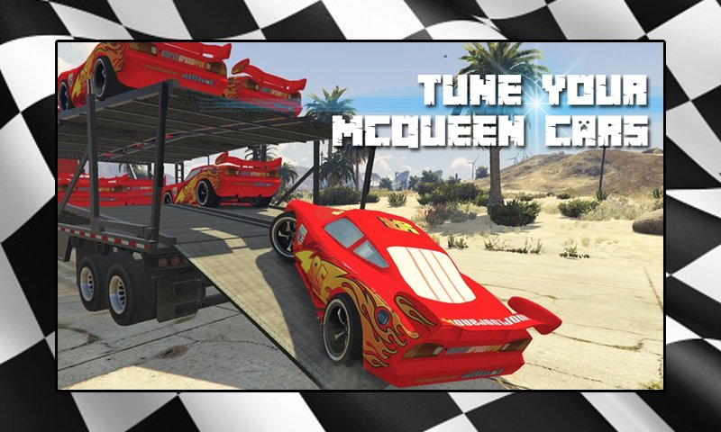 Mcqueen Car Racing Game截图第2张