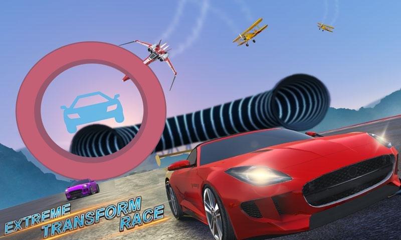 转变 种族 3D: 飞机, 船, 摩托车 &汽车截图第3张