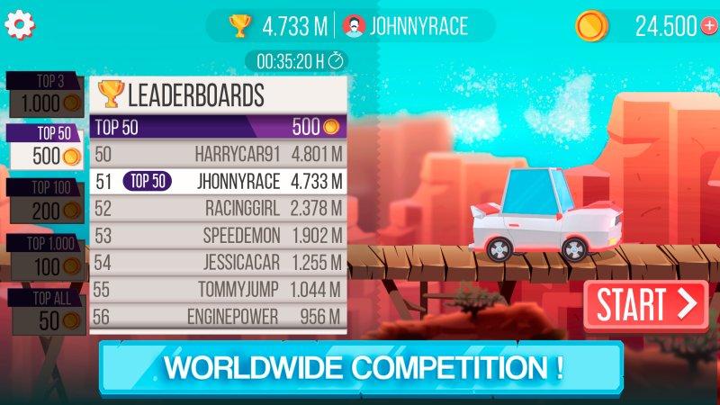 Drag 'n' Jump - Online leaderboards截图第2张