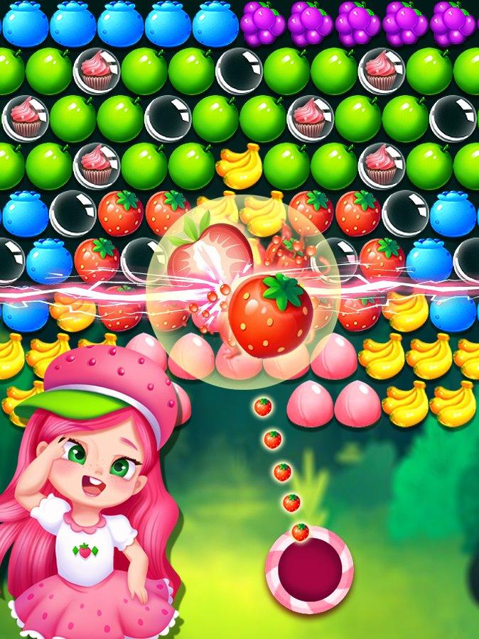 草莓公主泡泡龙截图第2张