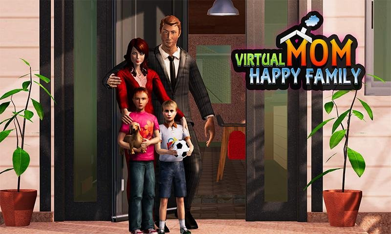 Virtual Mom : Happy Family Games截图第1张