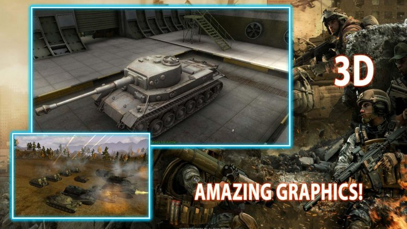 3D Tank Battle War截图第4张