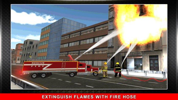 911消防卡车模拟3D截图第5张