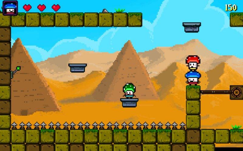 蘑菇英雄截图第2张