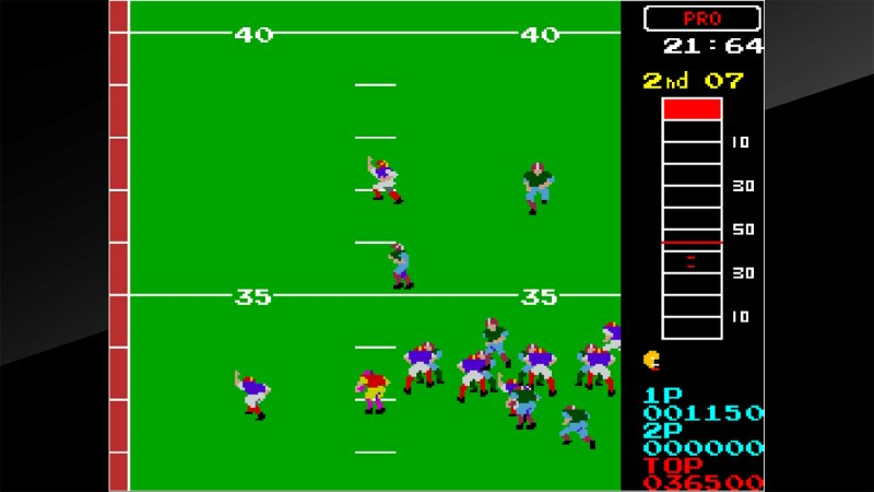 Arcade Archives 10-Yard Fight截图第3张