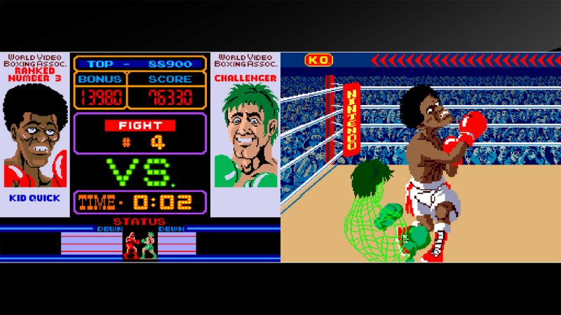 Arcade Archives Punch-Out!!截图第3张