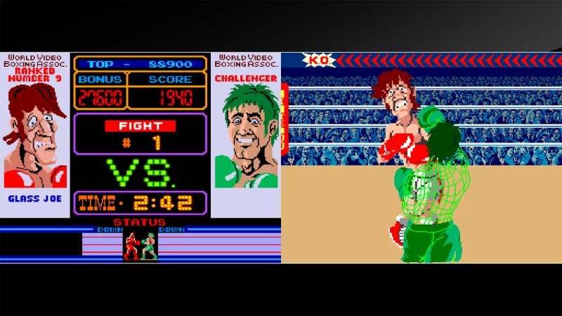 Arcade Archives Punch-Out!!截图第1张