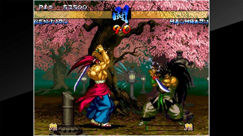 ACA NeoGeo Samurai Shodown III截图第4张