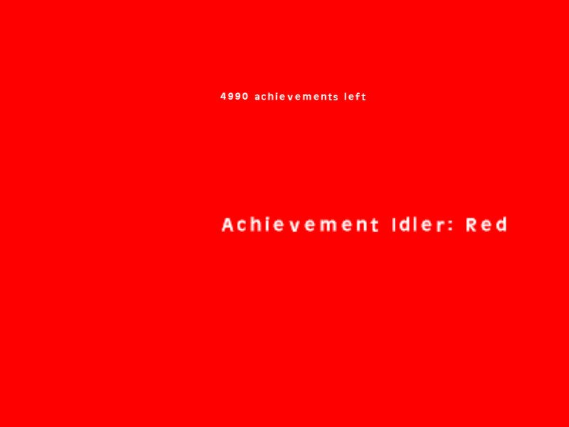 Achievement Idler: Red截图第6张