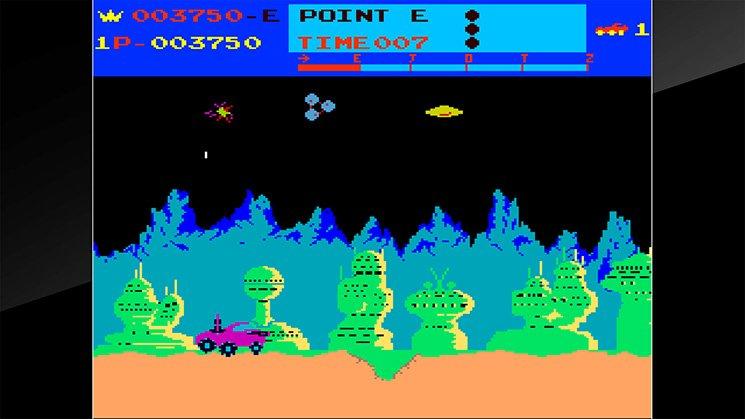 Arcade Archives Moon Patrol截图第1张