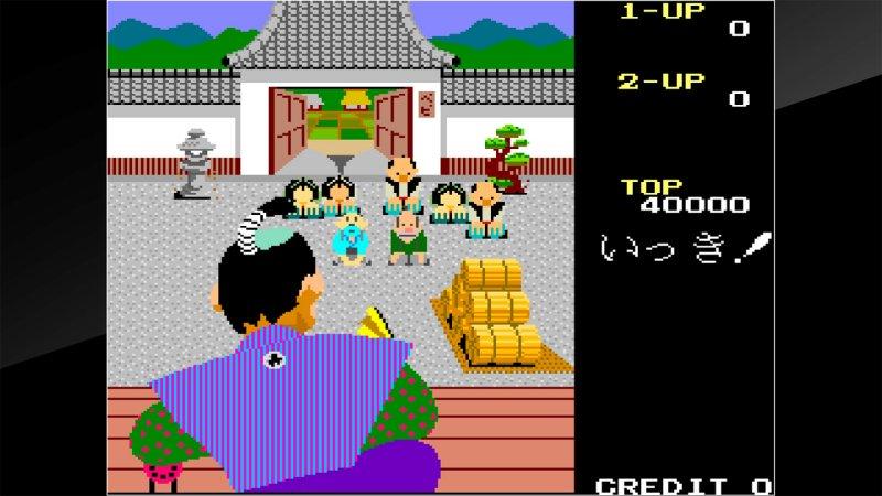 Arcade Archives Ikki截图第2张