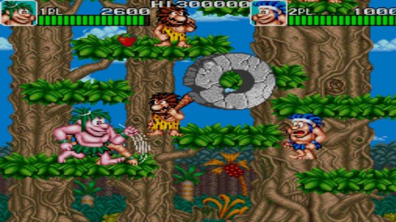 Johnny Turbo's Arcade Joe and Mac Caveman Ninja截图第6张