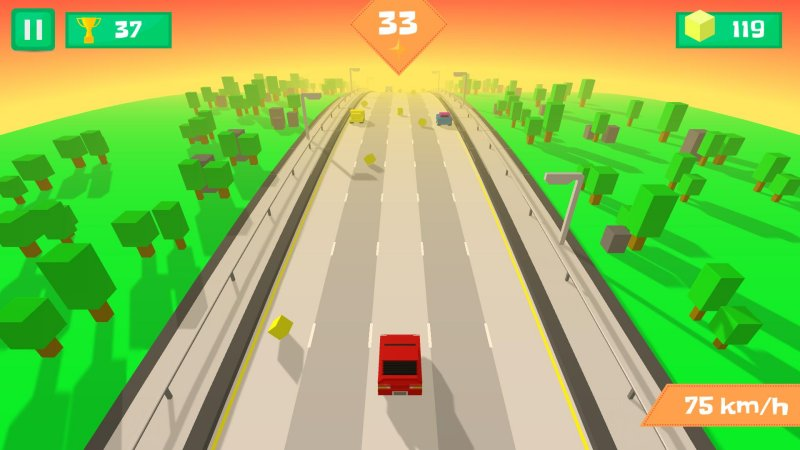 Pixel Traffic: Highway Racing截图第4张
