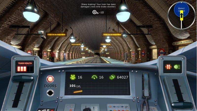 列车模拟:伦敦地铁截图第2张
