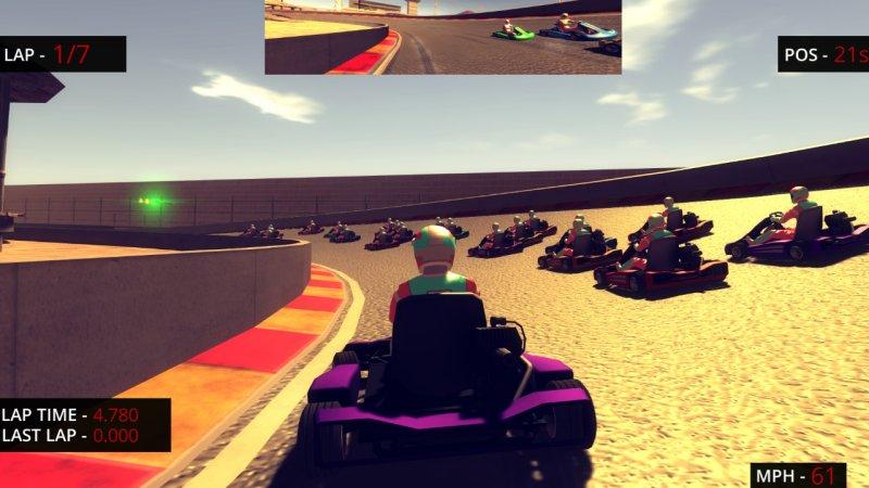 小型赛车比赛截图第3张