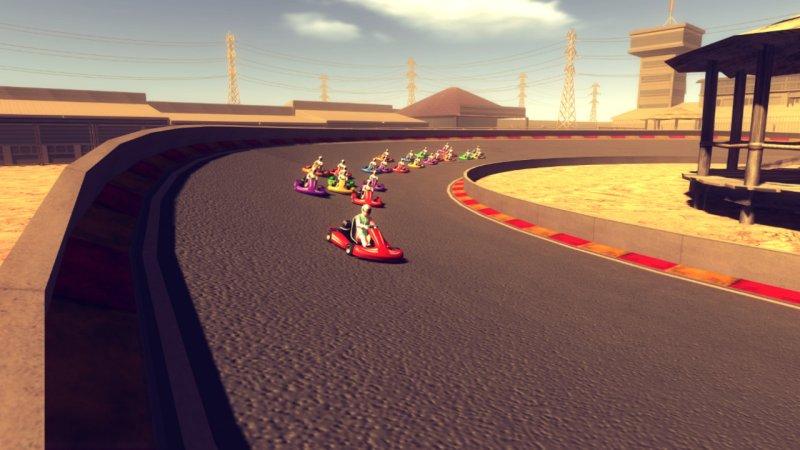 小型赛车比赛截图第2张