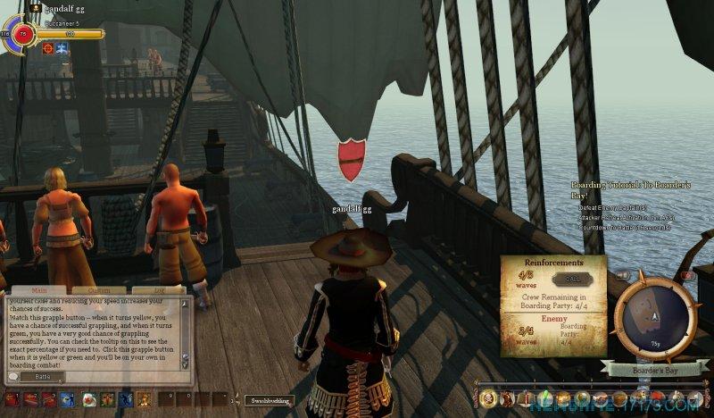 燃烧海洋上的海盗截图第2张