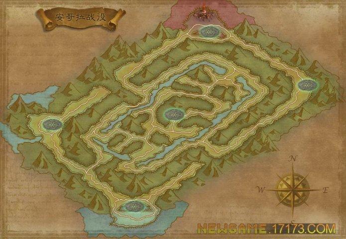 军团战争-关卡地图第8张