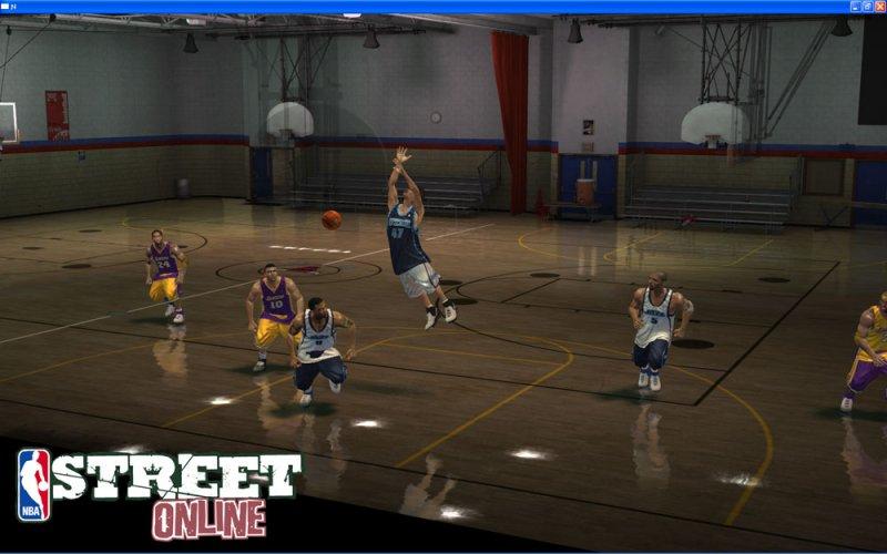 NBA STREET OL截图第4张