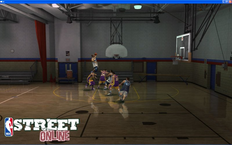 NBA STREET OL截图第2张