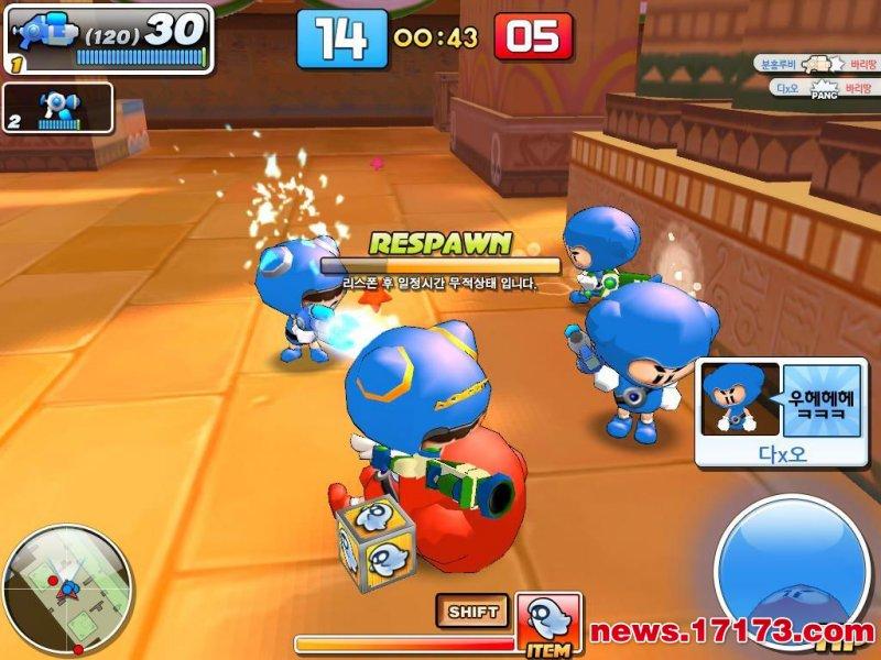 泡泡战士游戏截图第4张