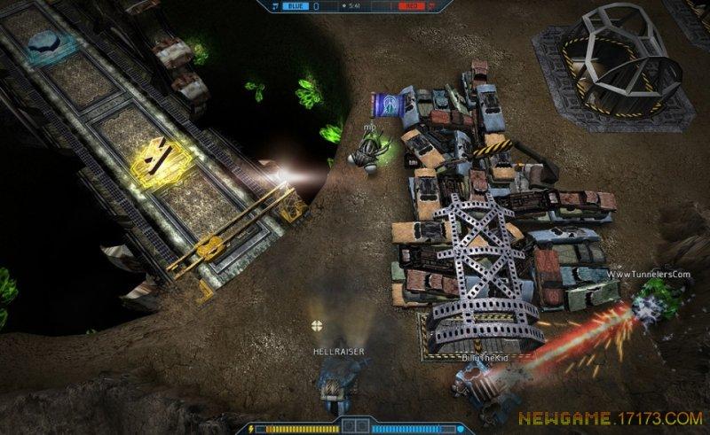 未来坦克战游戏截图第3张