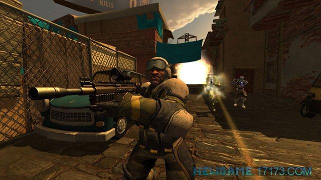 枪战世界游戏截图第1张