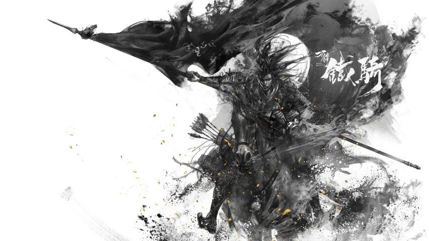 《刀锋铁骑》黑白原画第13张