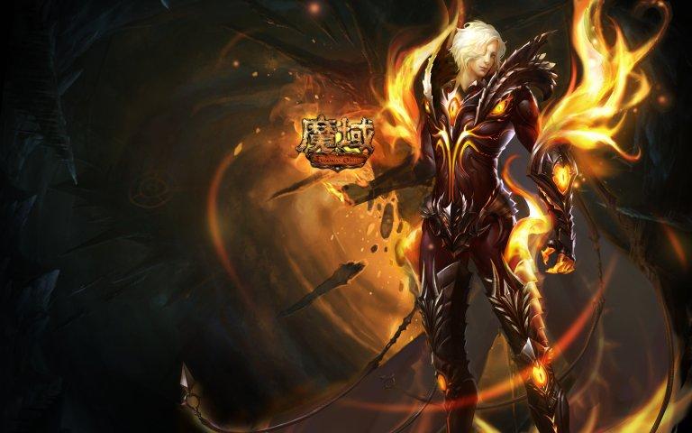《魔域》暗黑龙骑妖魅壁纸第3张