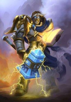 《炉石传说》职业原画之圣骑士