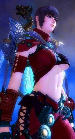 《激战2》暗影刺客女装(红)