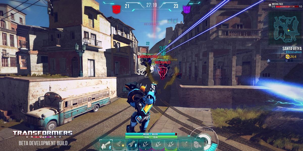 第三人称动作射击游戏《变形金刚》截图