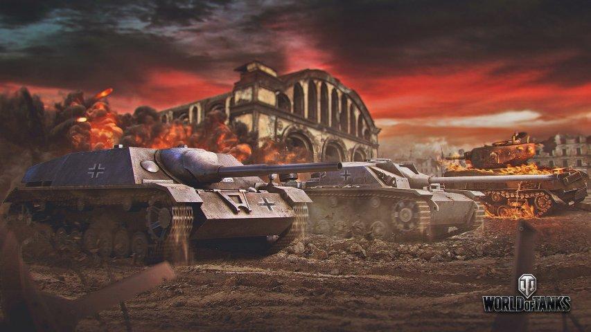 《坦克世界》官方壁纸第4张