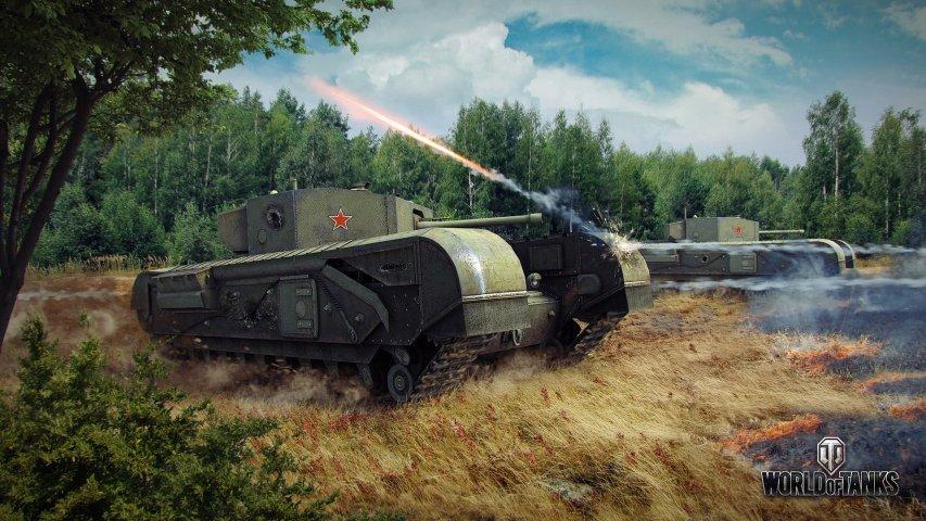 《坦克世界》官方壁纸第1张
