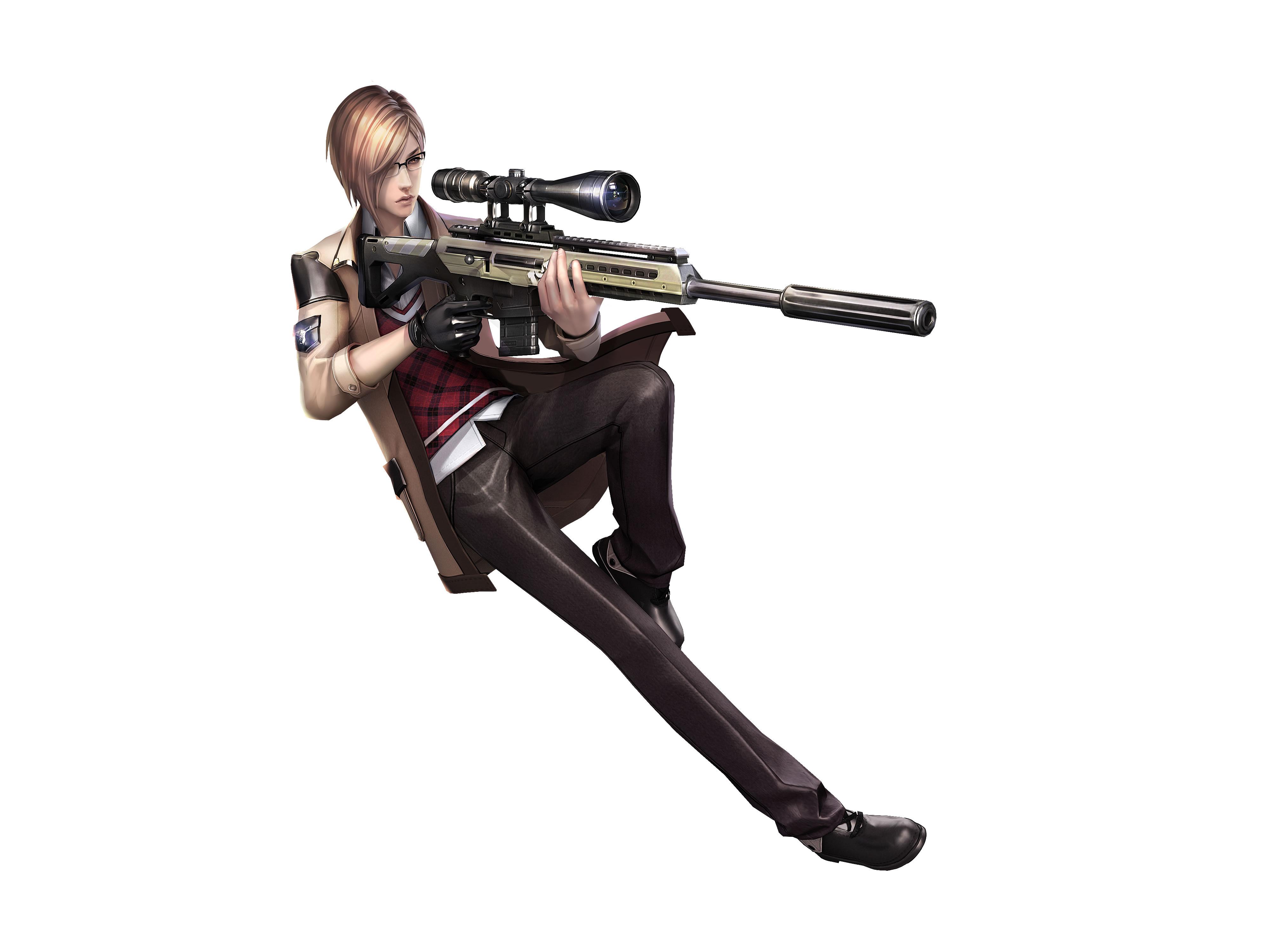枪神 套装/ 枪神纪九大职业套装人设图