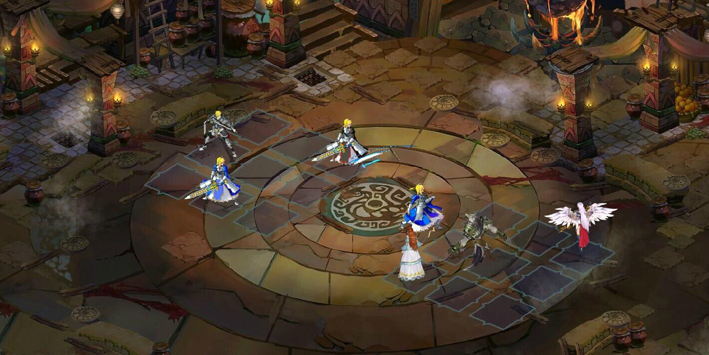 魔幻类《神魔异闻录》游戏战斗截图