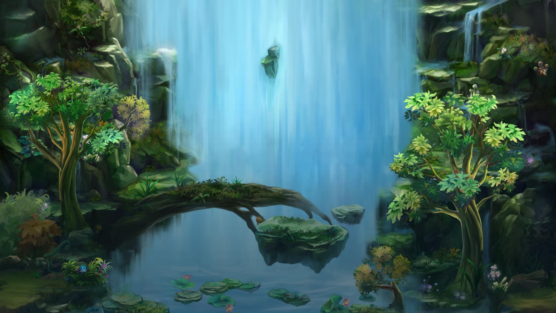 《空战西游》游戏场景原画