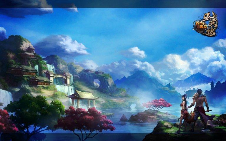 《刀剑英雄》巫灵传壁纸第1张