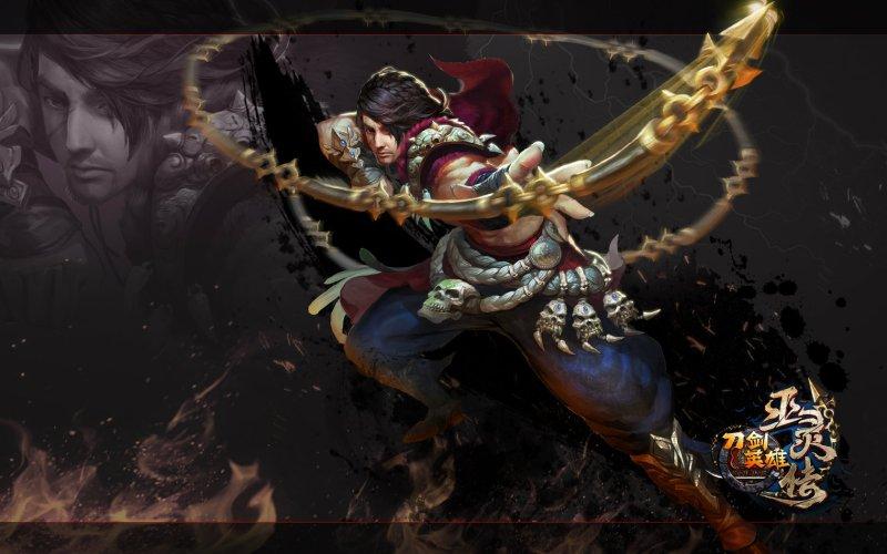 《刀剑英雄》巫灵传壁纸第3张