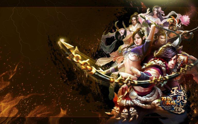 《刀剑英雄》巫灵传壁纸第9张