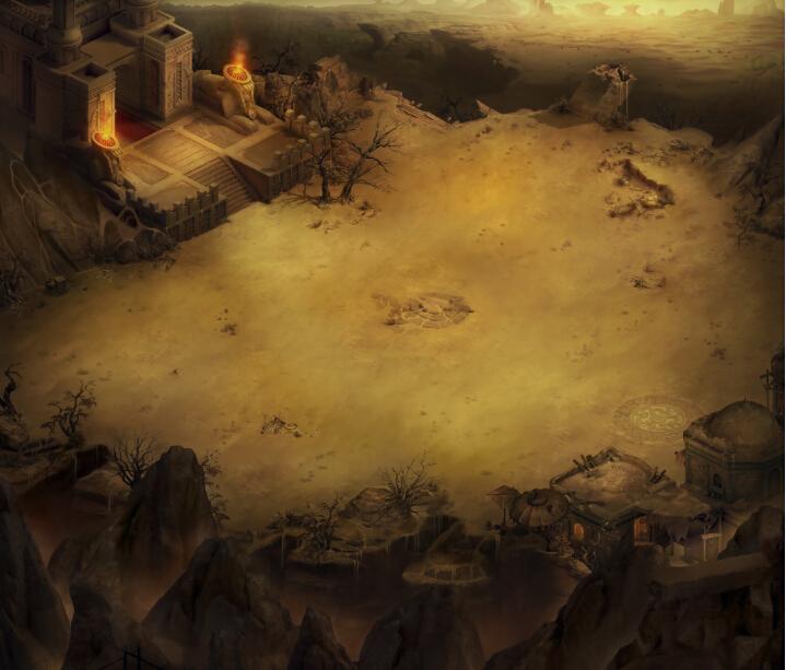 《暗黑破坏女神》游戏场景