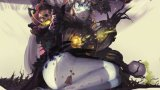 《倩女幽魂2》玩家手绘插画