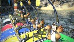 《最终幻想14》最新截图展示陆行鸟赛跑和兔女郎