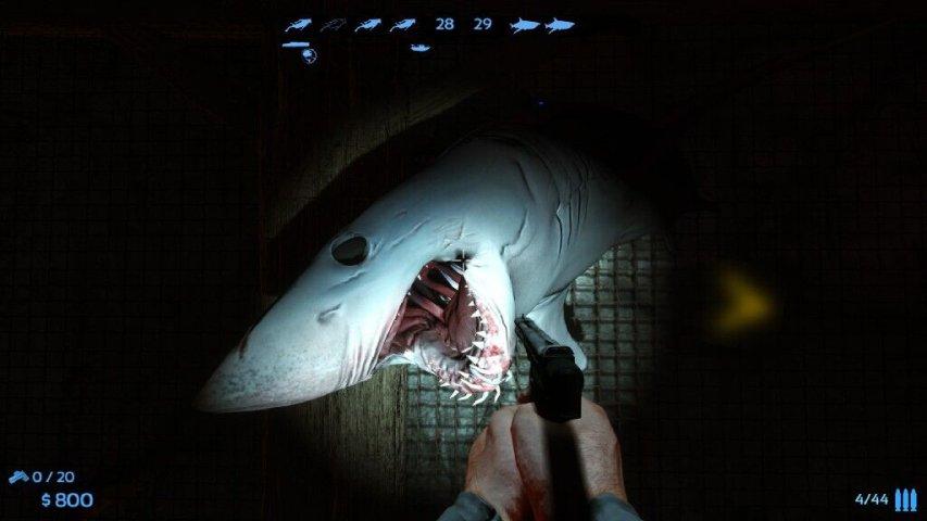 重口味血腥版捕鱼达人《捕鲨狂人》第2张