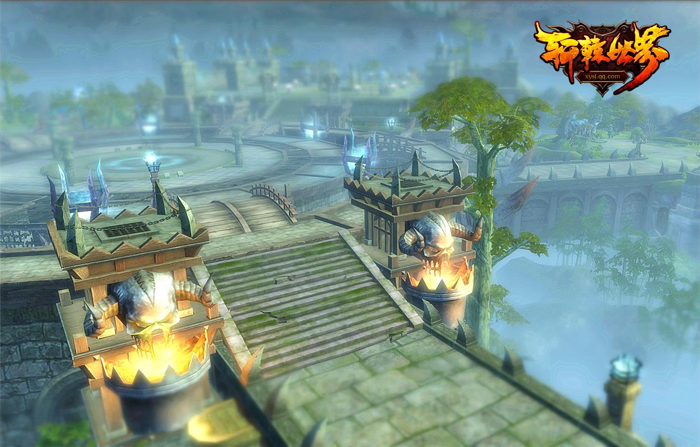 《轩辕世界》游戏原画