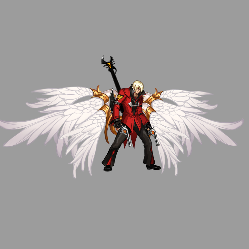 《热血街机》翅膀展示