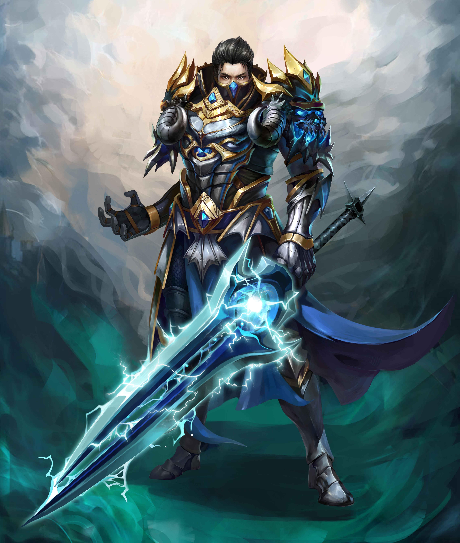《冰火之剑》人物原画