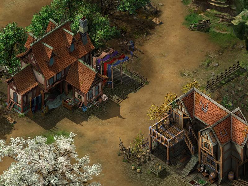 《冰火之剑》游戏场景