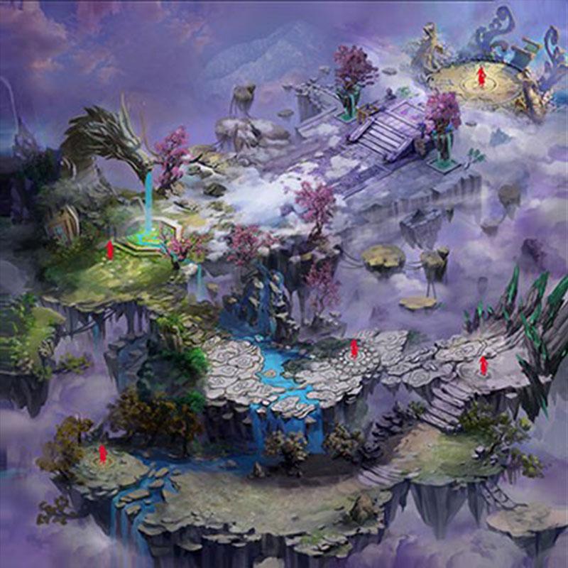 《花千骨》游戏原画