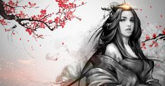 《赤壁之战》水墨风格人设图